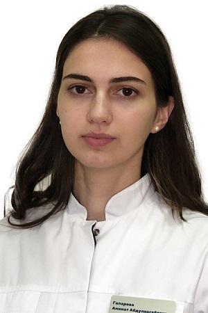 Гапарова Аминат Абдулвагабовна