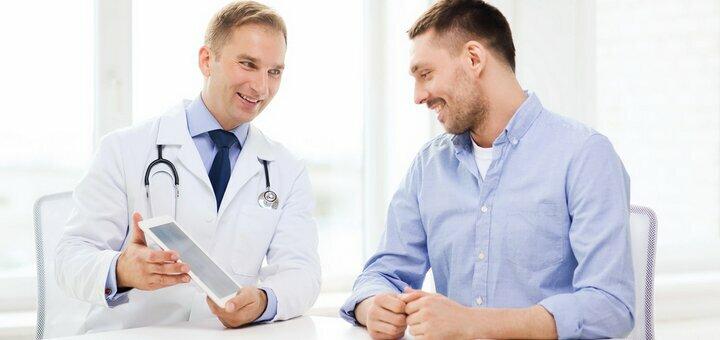 Акция! Обследование мужского здоровья + бонус 20% скидка на повторный прием уролога-андролога
